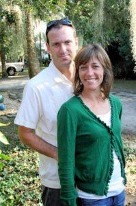 Brandon Veterinarian John Ligori and Erin